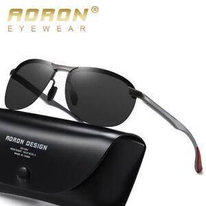Men-039-s-HD-Photochromic-Sunglasses-Polarized-Chameleon-Driving-Outdoor-Sunglasses