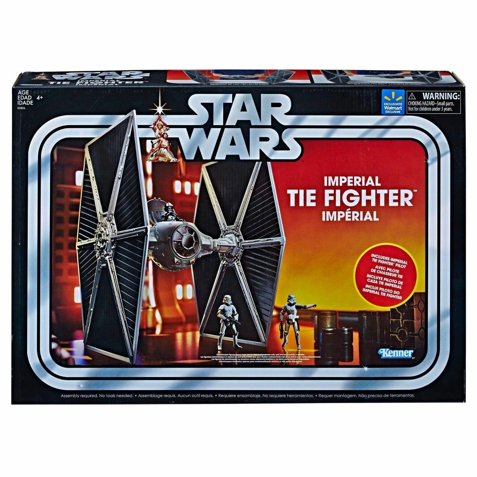 Hasbro Stern Wars  Imperial Tie Fighter Jahr Sammlung WALMART New frei S&H
