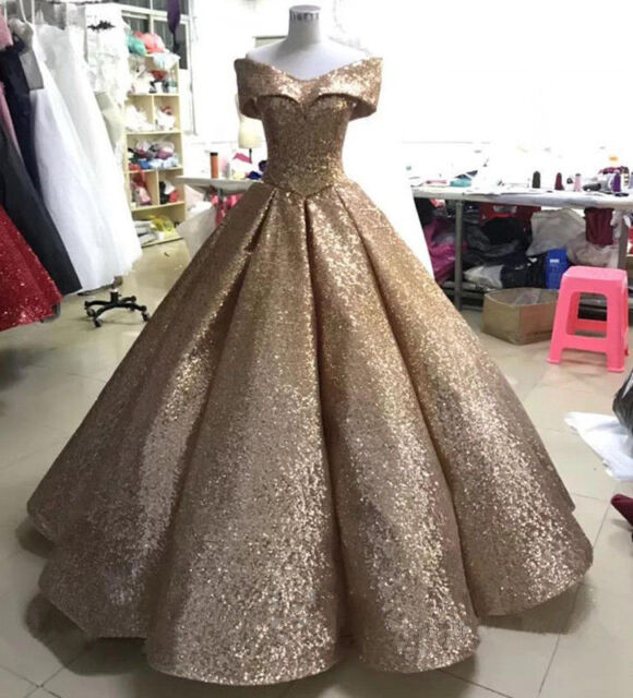 2018 Beaded Quinceanera Dress Ball Gown Formal Prom Party Wedding