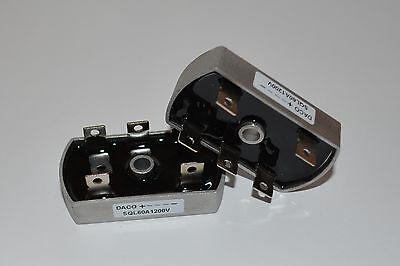 1 piece Bridge Rectifier 3ph 60A 1200V 1200 volt SQL60A 3 phase diode USA Seller