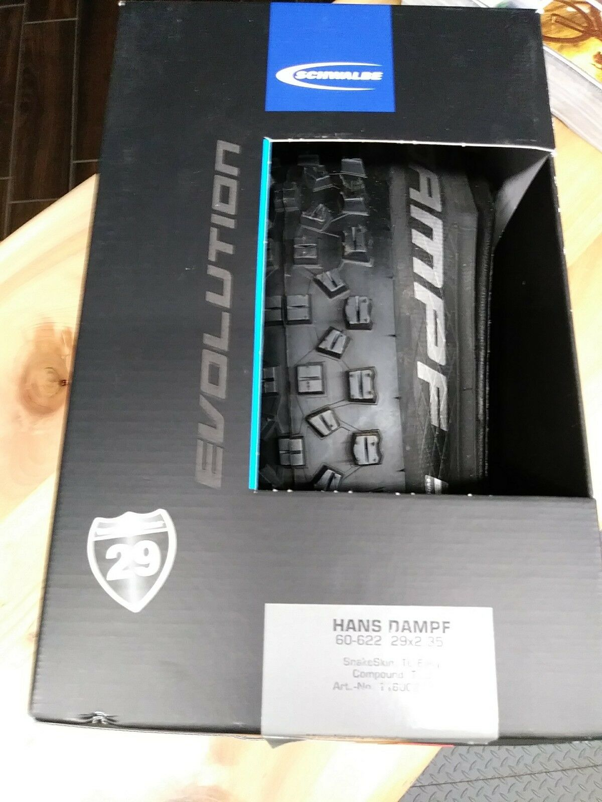 Schwalbe Hans  Damph 29x2.35 TL  various sizes
