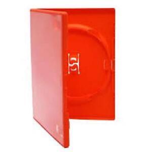 10 genuine red amaray single dvd cases ebay
