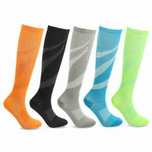Compression-Socks-Men-Women-Sport-Pain-Relief-Calf-Leg-Foot-Support-Stocking-S-L