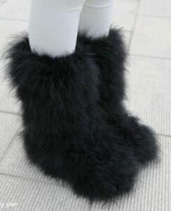Chic Women Warm Soft Fluffy Faux Fur