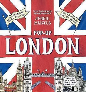 Pop-up-London-by-Jennie-Maizels-Hardcover-Book-New-FREE-amp-Fast-Delivery