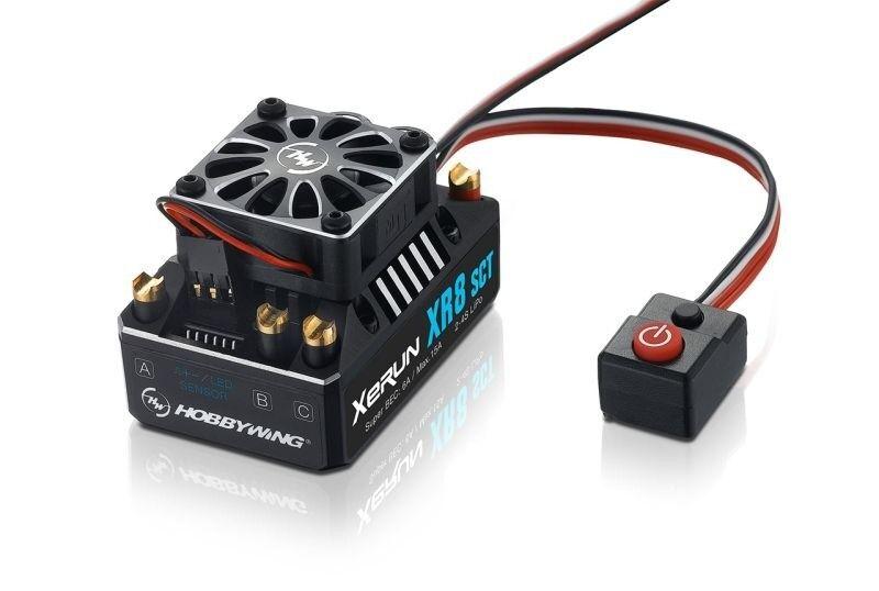 Hobbywing xerun xr8 sct 140a regulador con Bec 6a 2-4s lipo para sct-hw30113301