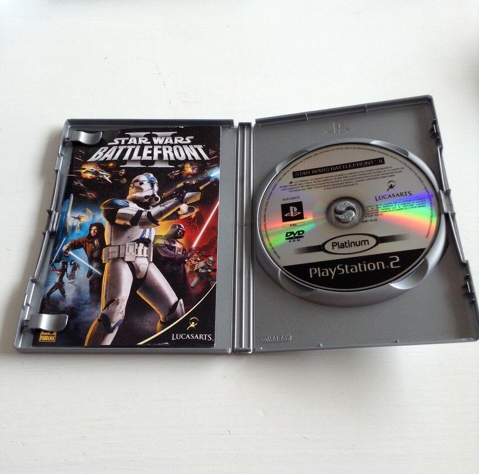 Star Wars Battlefront II, PS2, action