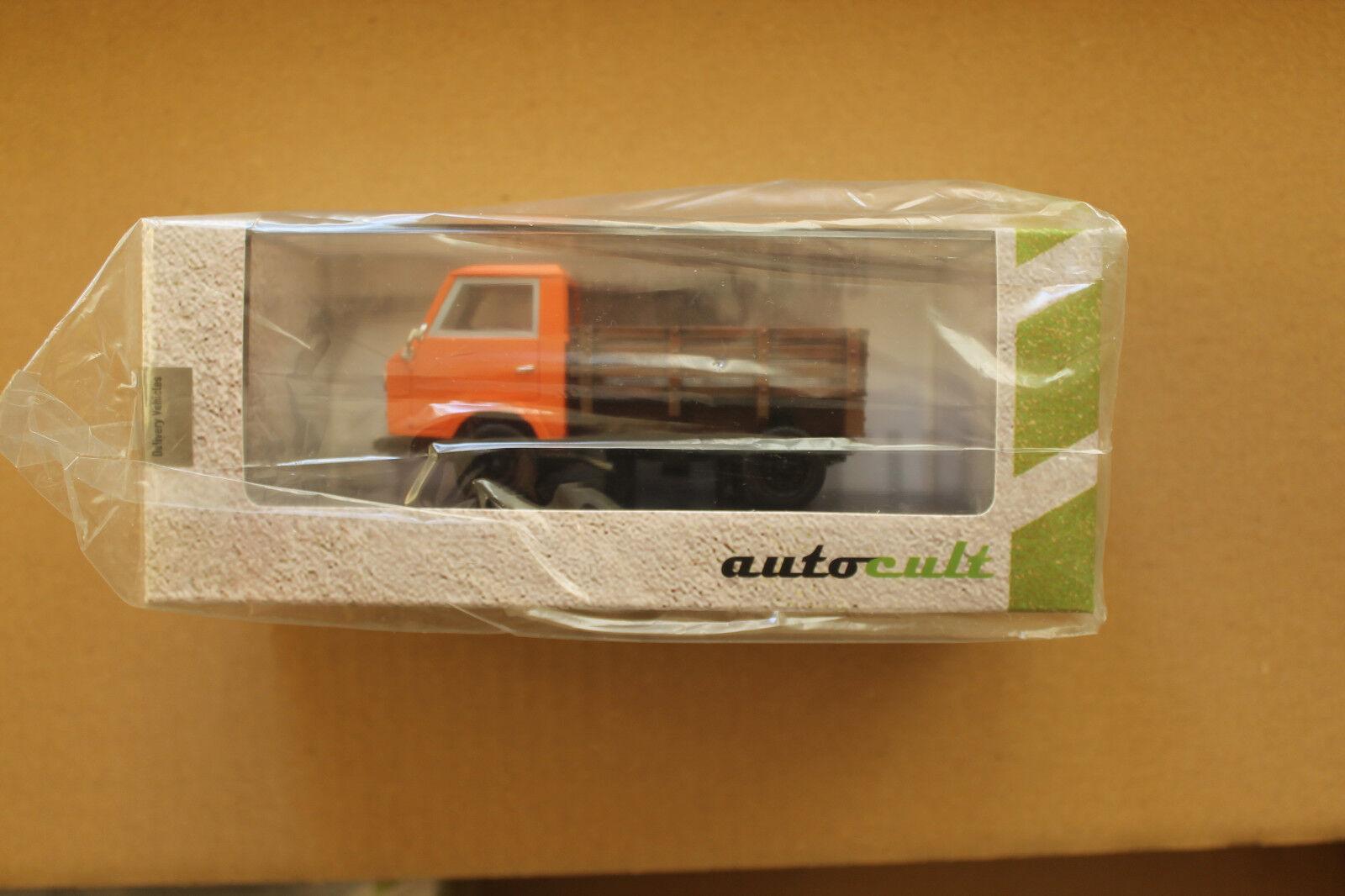 bilsekt 1 43  0802 VW EA489 Basistransporter - orange (1973)