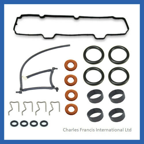 For Peugeot 107-1007 1.4 HDi Injector seals  Rocker Cover Gasket Leak off Pipe