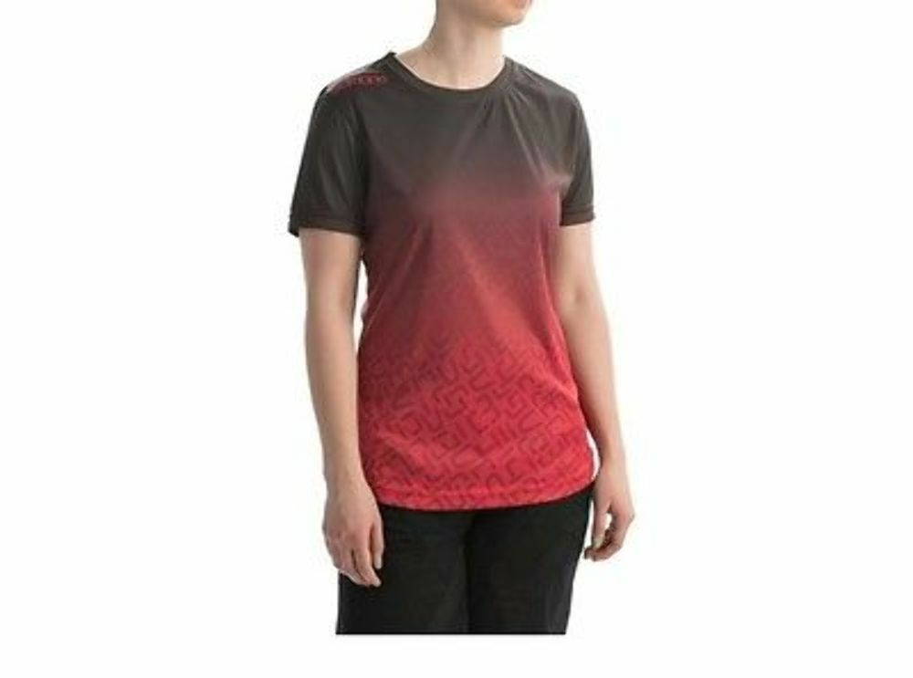 Sombrio Slice n Dice Women's Mountain Bike Mtb Cycling Jersey Red Size Sm. New