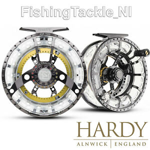 Hardy-Ultralite-ASR-Disk-Drag-Cassette-Fly-Fishing-Reel-W-2-Spare-Spools-amp-Case