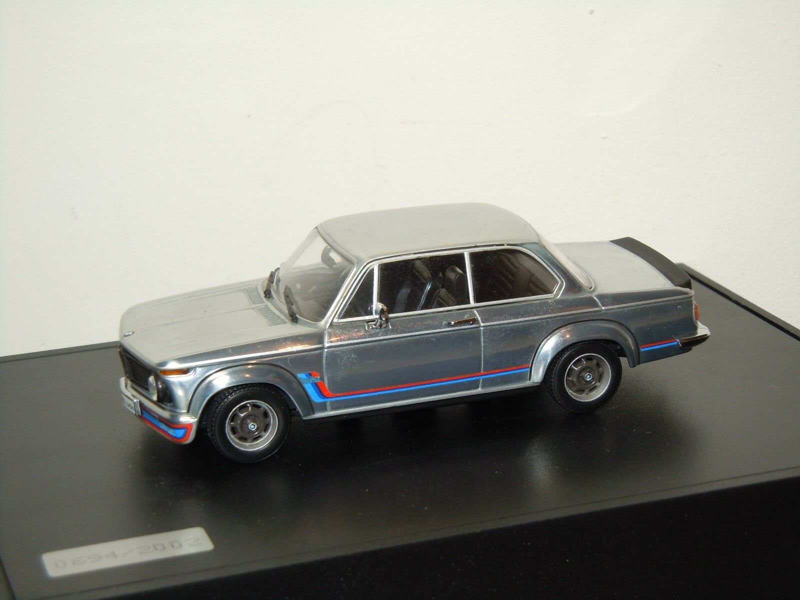 Bmw 2002 turbo - minichamps 1 43 in kasten  30834