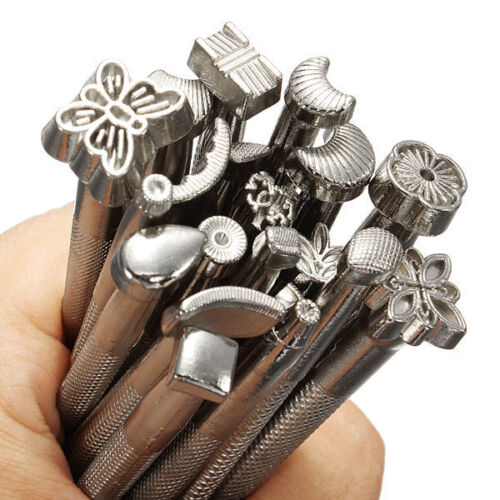 20 pcs Alloy Leather Carving Costura Tool Sewing Accessories DIY Leather Working
