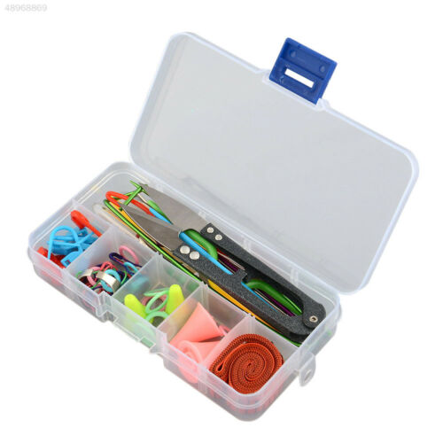 Knitting Tools Crochet Stitch Accessories Supplies With Case Box Kit New