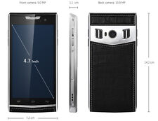 4.7 INCH LUSSO Metal Frame Elegant 4G Vertu STYLED Smartphone DUAL 2 sim schermo