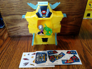 Power Rangers Micro Morphers Zords Series 1 Cybervillain Roxy Morph Jax Beastbot