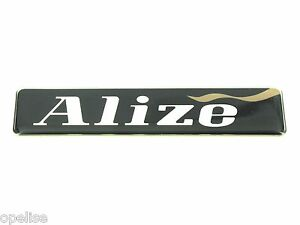 Genuine New RENAULT ALIZE BADGE Emblem Logo Laguna Clio Scenic Megane Espace