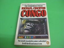 Libro The Andromeda Strain - Michael Crichton Congo - Ingles