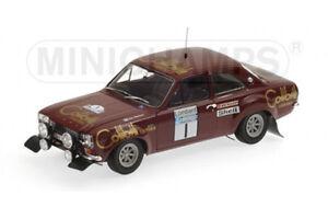 01:18 Minichamps Ford Escort I 1600 Racer Lacs 1974 # 1 - Rare