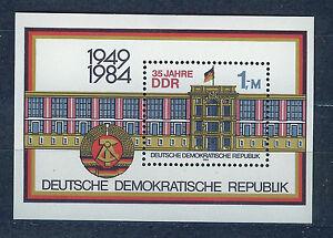 ALEMANIA-RDA-EAST-GERMANY-1984-MNH-SC-2431-DDR-35th-annv