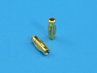 Gold Plated Lantern Spring Probe Tip Attachment for Brymen Multimeter Test Leads