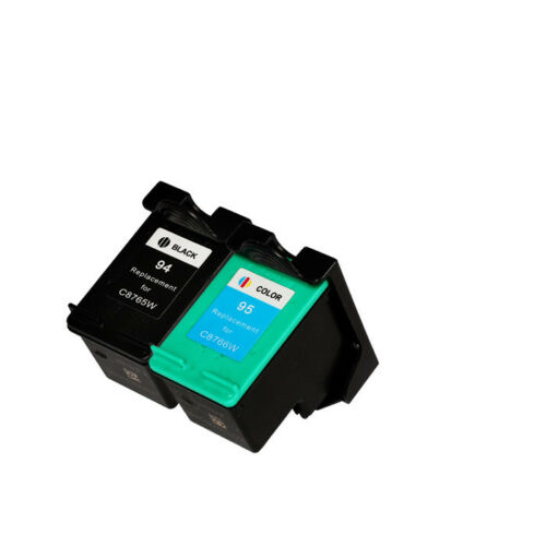 1 of 1 - 2x Remanufactured Ink Cartridges for HP 94 Black C8765WN + HP 95 Color C8766WN