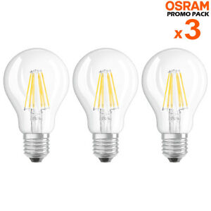 3 lampadine led bulbo e27 da 6w luce neutra 4000k 806 for Lampadine led lumen
