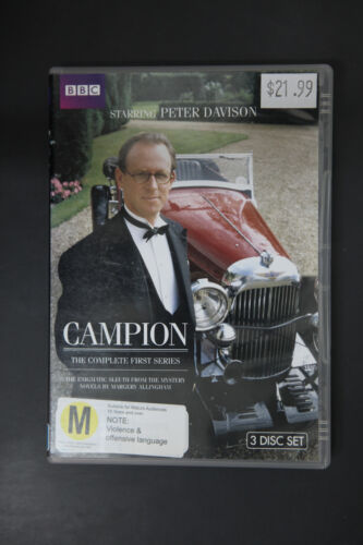 1 of 1 - Campion : Series 1 (DVD, 2009, 3-Disc Set) - VGC Pre-owned (D119)
