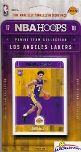 2017-18-Panini-Hoops-NBA-Los-Angeles-Lakers-Team-Set-Lonzo-Ball-Kyle-Kuzma-RC