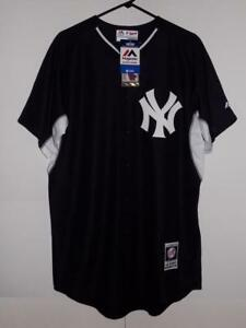84e776544 New York Yankees jersey  135 Majestic Authentic BP Cool Base button ...