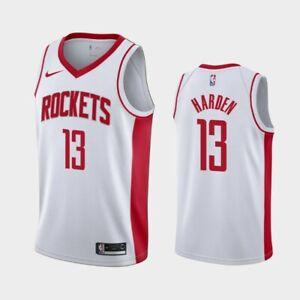 James Harden #13 Houston Rockets Men's N White w Rockets Jersey | eBay