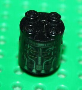 Lego® 4 x Scharnierplatte 2x4 schwarz NEU 98285