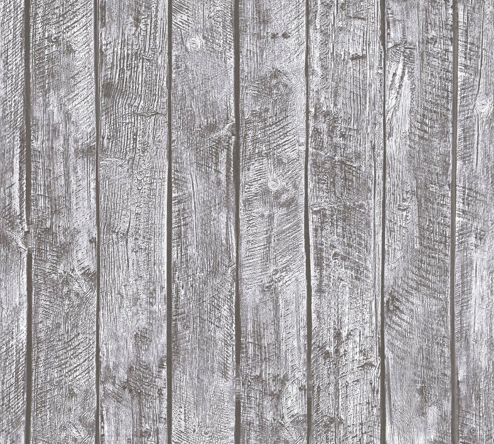 Sehr Vliestapete Holz Bretter Muster grau 35841-2 Little Stars NK73