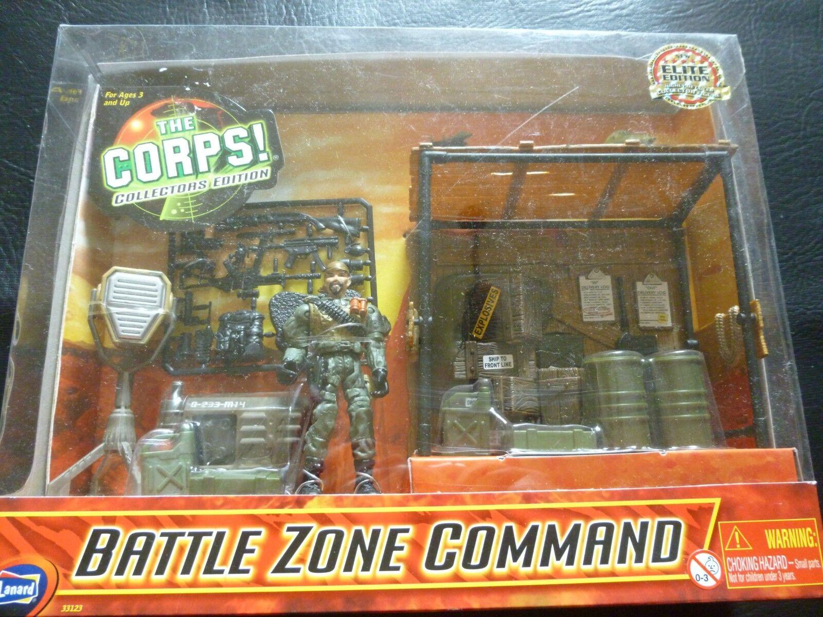 THE CORPS COLLECTORS EDITION - BATTLE ZONE COMMAND  ELITE EDITION BNIB ..RARE