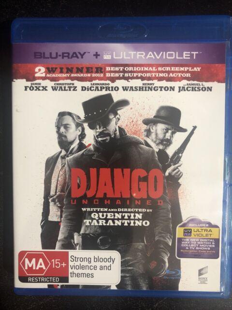 Django Unchained Blu-ray Region Free Jamie Foxx, Christoph Waltz