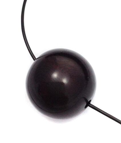 Taguaperle negro 20mm 1 piezas