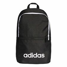 4068afed9ee0 adidas Linear Classic Backpack Rucksack School Sports Bag Black White