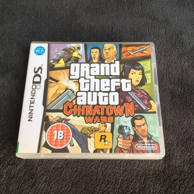 Nintendo DS Grand Theft Auto Chinatown Wars UKV Excellent état