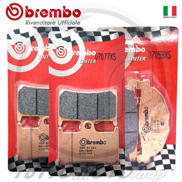 KIT PASTICCHE BREMBO YAMAHA TMAX 500 FRENO ANT+ POST ( PASTIGLIE T-MAX 08 - 12 )