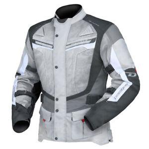 NEW-Motorcycle-Dririder-Apex-4-Airflow-Grey-White-Black-Road-Jacket-2111842-49