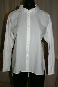 Country-Road-Women-039-s-Long-Sleeve-Shirt-White-AU10-NWT-RRP-99-95