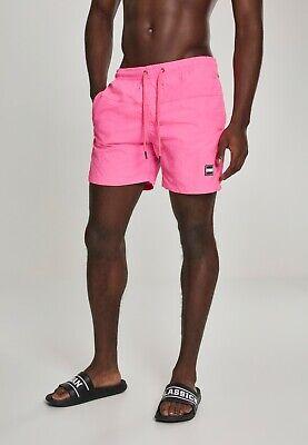 URBAN CLASSICS Costume da bagno uomo piscina mare Block Swim Shorts Over sizes