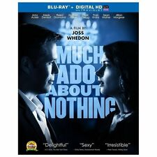 Much Ado About Nothing Blu-ray (lightly used) No Digital HD code
