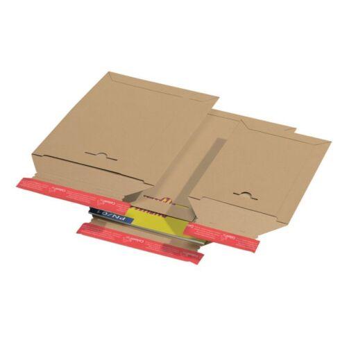 50 mm Außenmaße:265x357 mm 100Stk Versandtasche CP 010.05 Innenmaße:250x340x