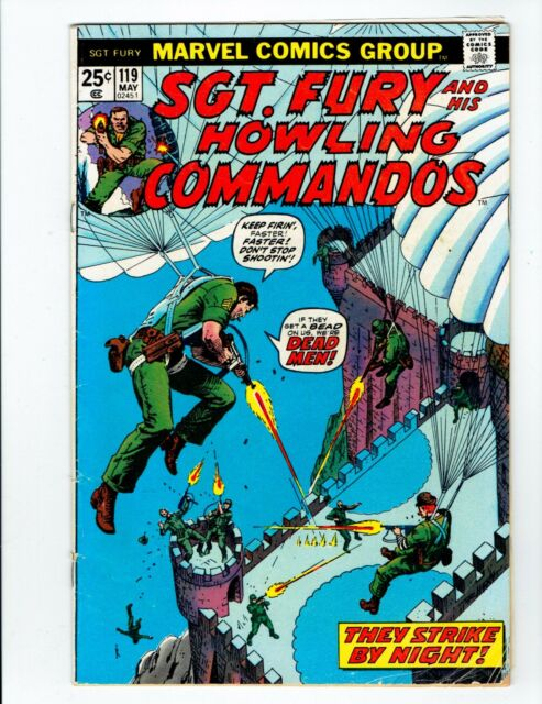 sgt. fury and his howling commandos no.119 1974