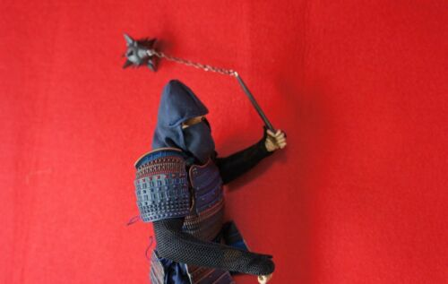 Spiked Flail 1//6 Scale Miniature Medieval Weapon Action Figure Accessory