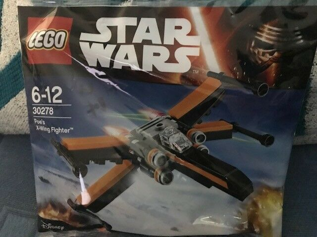 Lego 30278 Star Wars Poe's X-Wing Fighter Polybag BRAND NEW & SEALED!