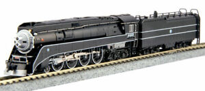 Kato-N-Scale-GS-4-Steam-Locomotive-BNSF-Excursion-Black-4449-DCC-Ready-1260312