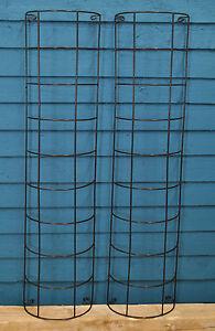 2-x-Gardman-Metal-Tube-Climbing-Plant-Trellis-91cm-x-20cm