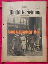 BERLINER ILLUSTRIRTE ZEITUNG 1923 Nr. 12: Die Leiden der Ruhrstädte